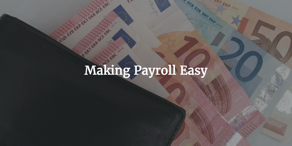 making payroll easy